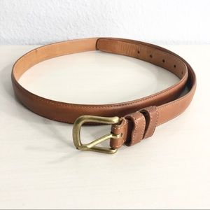 """Coach 6611 Tanned Leather Belt Size 38"""""""